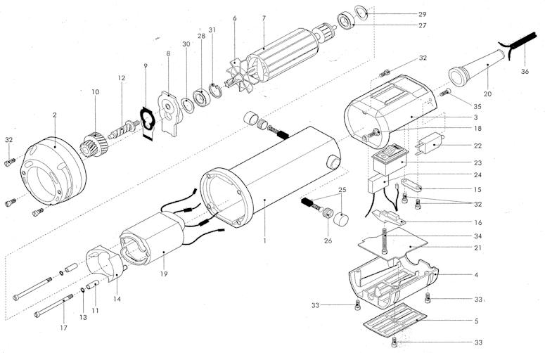 andis  heiniger clipper motor  u0026 head